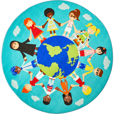 """Teppich """"Kinder der Welt\"""