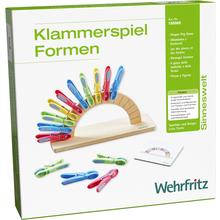 """Klammerspiel """"Formen"""""""