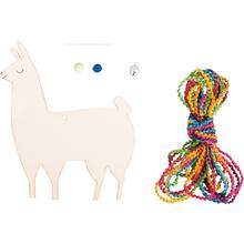 "Holzanhänger ""Lama"""