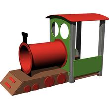 Lok ohne Waggon (Metall)