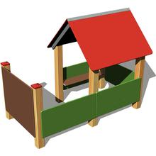Zwergenhütte, mit Veranda