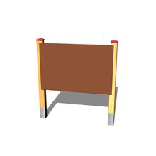 Zeichentafel (Holz/Metall)