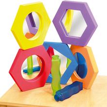 "Soft-Spiegel ""Hexagon"""
