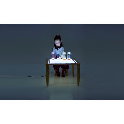 Leuchttisch mit LED-Panel, höhenverstellbar
