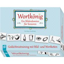 Wortkönig – Ein Bilderdomino für Senioren
