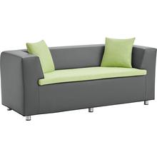 2-Sitzer mit Kissen