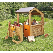 Spielpavillon mit Veranda