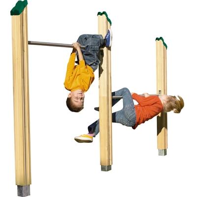 2-fach-Stufenreck, H 75 und 125 cm