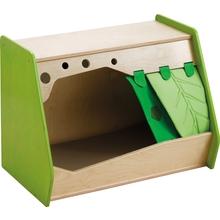 Kuschelhöhle mit Lauschbox inkl. Vorhang