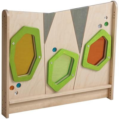 """Trennwand """"Farbige Acrylfenster"""""""