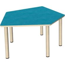 Tisch Fünfeck klein 115,8 x 104,2 cm
