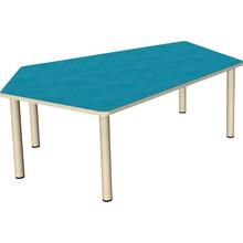 Fünfeck-Tisch groß 165,8 x 115,5 cm