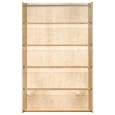 Wandplatte Bücherregal