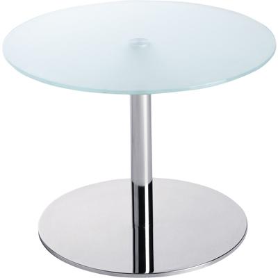 Wartezimmer-Säulentisch Platten-Ø 60 cm