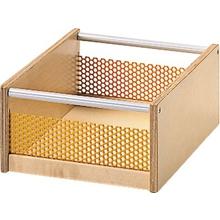 Materialkasten mit Lochblecheinsatz