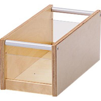 Materialkasten mit Acryleinsatz