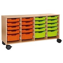 Rollschrank für Materialboxen