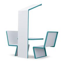 """Tisch """"Haus"""", beleuchtet"""