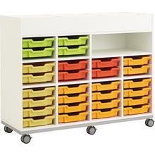 Lernjobwagen für Materialboxen