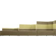 "Sofa ""Fünfeck"", mittlerer Rücken hinten, Lehne links"