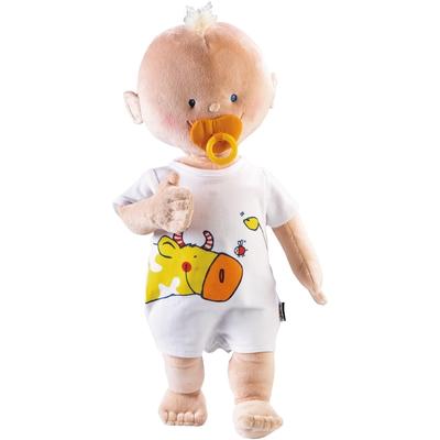 Puppe Krümel mit Body & Schnuller