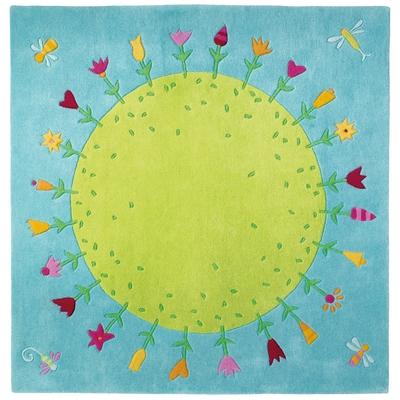 """Teppich """"Blumenplanet"""""""