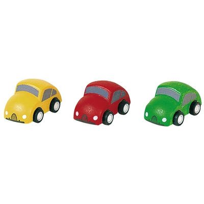 Holzauto-Set
