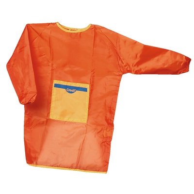 Malkittel orange, klein