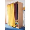 Stange und Vorhang