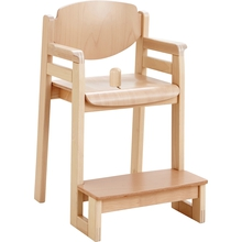 """Sicherheitshochstuhl """"Favorit XL"""" mit Sitzknopf für Tischhöhe 59 cm"""