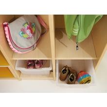 Garderobenschrank mit Eigentumsfach