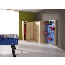 Garderobenschrank mit Tür