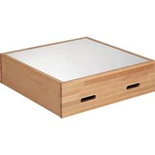 Quadrat-Spiegel-Podest