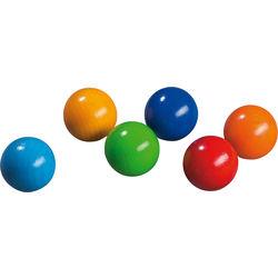 Wooden Balls, 6 pcs.