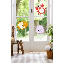 """Sea Creatures"" Window Pictures"