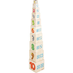 Willy's Number Stacking Tower