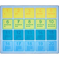 """20"" Numbers Carpet"